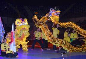 Danse du Lion et Dragon XII GNAM
